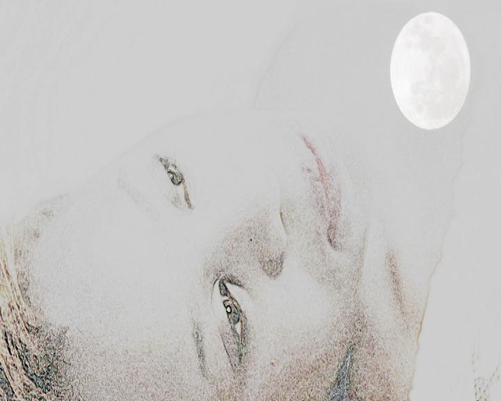 She Moon Love Spell Poster