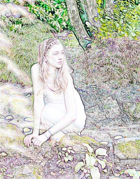 She Moon, Love Spell Art