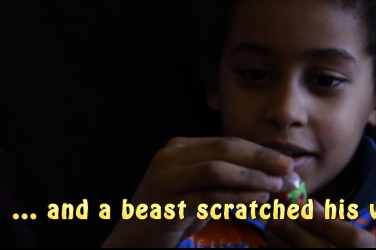 Kid's Spanish and English Art Movie