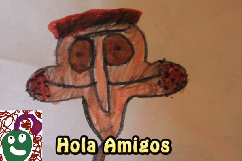 Kid's Spanish and English Art Movie