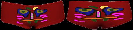 CaraHipHugger Shorts (Red) £38