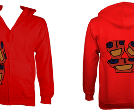 KidsBocasZoodie (Red) £55 Sizes: 5- 6, 7-8, 9-10, 11-12, 12-14 years old