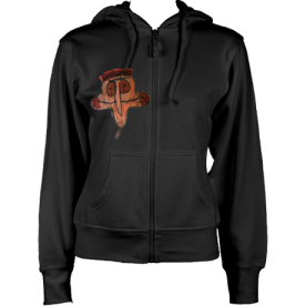 Ladies ChickyGuay Hoodie (Black) £72