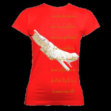 Ladies OrganicGoldDream (Red) £36