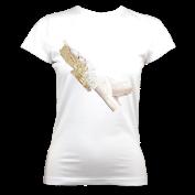Ladies Organic TLS (White) £35