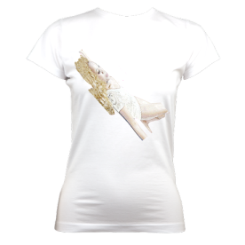 Ladies Organic TLS (White) £35