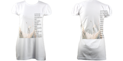 LoveSpellPoem Tunic (White) £63
