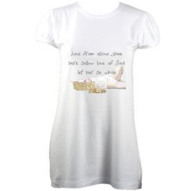 LoveEssential Tunic (White) £38