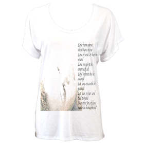 LightWeight LoveSpellPoem (White) £69