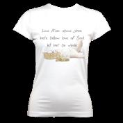 Love OrganicT (White) £33