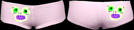 MagicMonster HipHugger Shorties (Pink) £35