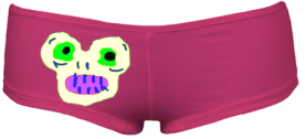 MagicMonster HipHugger Shorties (Fushia) £35