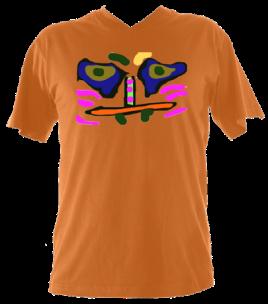 Men's VNeckCara (Orange) £32