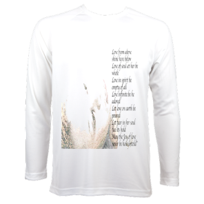 Men's LongSleeve LoveSpellPoem £68