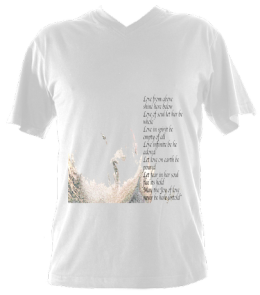 Men's VNeck LoveSpellPoem £37