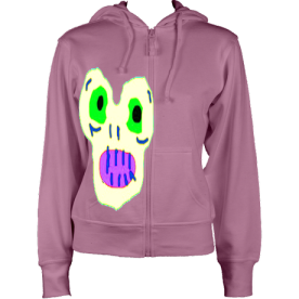 Women'sMagicMoster Hoodie Pink £41 Sizes: 8,10,12,14,16