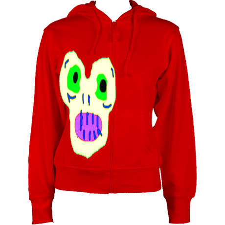 Women'sMagicMoster Hoodie Red £41 Sizes: 8,10,12,14,16