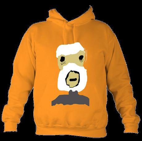 Kids ViejoCollege Hoodie Orange £47 Sizes: 5-6, 7-8, 9-10, 11-12, 13-14,