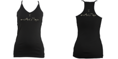Art RacerBack Tank (Black)£27