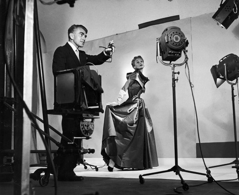 horst_studioHorst directing fashion shoot with Lisa Fonssagrives, 1949. Photo by Roy Stevens:Time & Life Pictures:Getty Images
