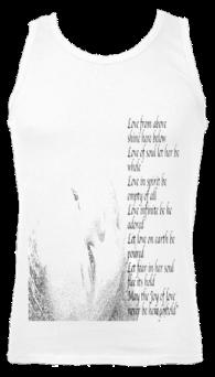 Men's Athletic Vest White