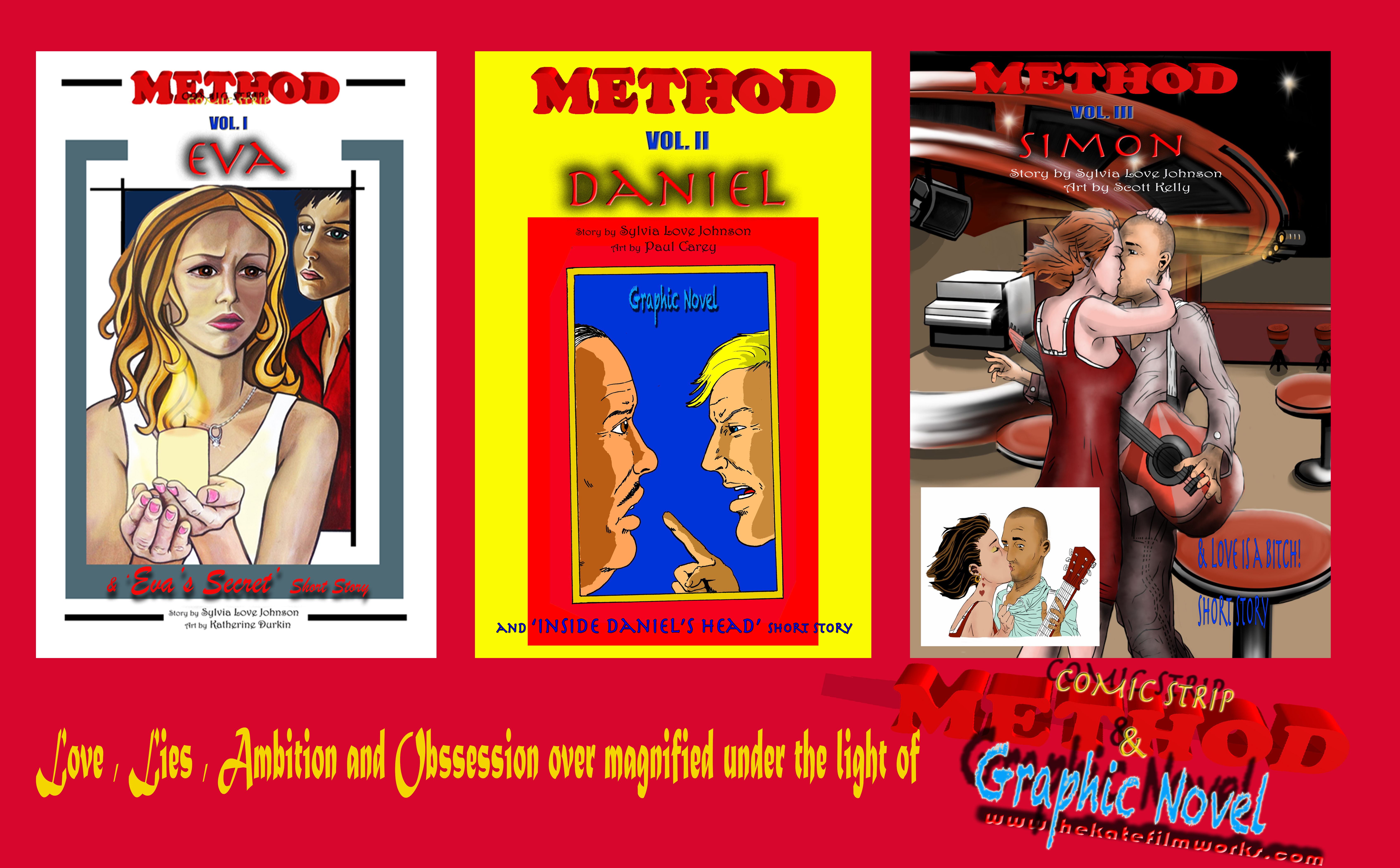 METHOD Graphic Novel Series
